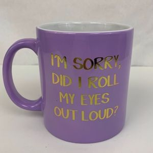 NEW - Lavender Coffee Cup